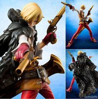 abs theater - NEW hot cm One piece sanji Theater version action figure toys Christmas toy szda