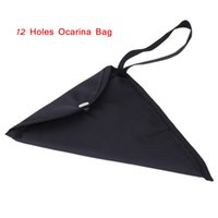 cotton bag - Ocarina Bag Gig Bag Protective Bag with Strap mm Cotton Padded for Holes Ocarina Ocarina Accessories New Arrival I601