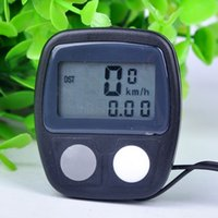 Wholesale 2015 New Functions LCD Speedometer Display Cycling Bicycle Bike Computer Odometer Speedometer X60 HM595W M2