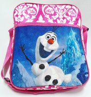 Wholesale 2015 Fashion Hot sal Mochila Frozen Kids Children Travel Backpack Shoulder Bags School Bags for teenagers Christmas Best Gifts