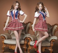 maid costume - New Nniform Students Appeal Japan and South Korea Sexy Maid Dress Uniforms Temptation to Women Sexy Lingerie Sexy Maid Outfit F047