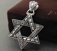big huge necklaces - Huge Big Star of Magen David Men s Judaism Jewish Pendant Charm P7979