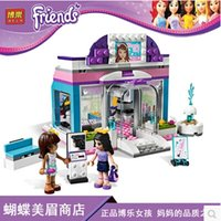 beauty shop toys - Friends Butterfly Beauty Shop Building Block Sets Original Bela girls Toys Bricks Compatible with Legoe