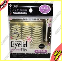Wholesale New Arrivals Beauty Women Invisible Double Eyelid Stickers Meimu Eye Lid Paste Send Back Set SB5541S Full Kit Sets