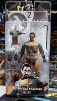 freeman - NECA Half Life Dr Gordon Freeman PVC Action Figure Collectible Model Toy quot CM