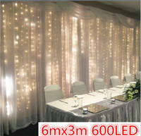 ac activities - New W LED lights flash lamps wedding wedding decoration stage background mall store opening activities Length m High m LED