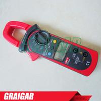 220g ac temperature meter - UNI T UT204A digital clamp multimeters auto range temperature AC DC current clamp meter uni t UT A ammeter voltmeter