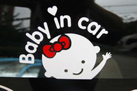 baby door signs - Car Sticker quot baby in car quot Sign Car Decal Waterproof Reflective Vinyl Styling