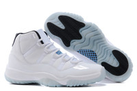 athletic sporting goods - XI Legend Blue Basketball Shoes Good Quality Men Sports Shoes Women mens Trainers Athletics Boots Retro XI Sneakers Cheap