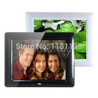 Wholesale Inch TFT LCD HD Digital LCD Photo Picture Movies Frame Alarm Clock MP3 MP4 Player with Remote Desktop Color