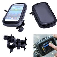 bicycle bar bag - Universal Waterproof Phone Case Bicycle Mount Holder Cradle for Galaxy S6 S5 S4 NOTE iPhone Plus s and more Cell Phone