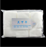 Wholesale 1000set CCA3377 Hot Sale pack Nail Sticker Decal Nail Art Tips Manicure Polish Remover Clean Wipes Cotton Lint Pads Paper Nail Tools