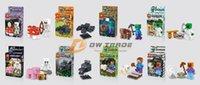 building block - minecraft Action Figure Steve Zombie Skeleton Enderman Building Blocks Sets Kids puzzle Toys Figures Bricks J030404