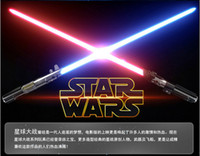 Wholesale HOT Sell Cartoon LED Lighted Toys Children s Day Gifts LED Swords Cool Cosplay Boys Girls Toys Birthday Present Kids set A4784