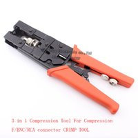 Wholesale Multi function tool in Compression Tool For Compression F type BNC RCA connector CRIMP TOOL RG58 RG59 RG6 F BNC RCA plug