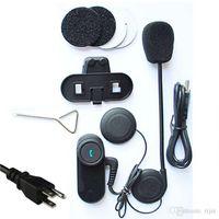 Wholesale 1000M For Bluetooth Motorcycle speakers Multi Interphone Headsets Motorcycle motorbike kask casque capacete moto Helmet Intercom