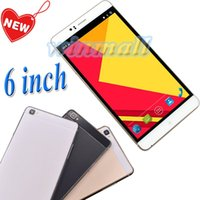 Wholesale 6 inch Android Cell Phone mAh M8 MTK6580 Quad Core G WCDMA Dual SIM Unlocked Smartphone Free Cover Case
