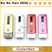 Cheap New Arrival No No Hair Smart 8800 Women Men Hair Epilator Professional Hair Removal Device for Face and Body Nono Hair Pro 8800