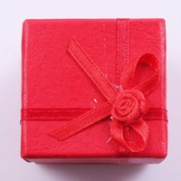 Wholesale 9pcs Gift Boxes Red Flower Decoration Boxes Accessories Jewelry Boxes mm