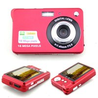 Wholesale NEW Red Stylish MP quot LCD Digital Camera Camcorder w AV Out SD Slot US Plug