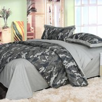 army camouflage bedding sets - Camouflage Army Camo bedding sets king queen full size pure cotton adult Childrens Bedding Sets