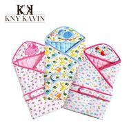 Wholesale 2015 New Fashion Warm Envelope For Newborn Rug Cartoon Baby Blanket Swaddling Cotton Sleeping Bag Infant Baby Products HK319
