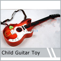 acoustic guitar picks - Acoustic Guitar with Pick for Beginners Practice Kids Boys Girls Toy Gift New and Hot Selling