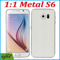 Wholesale Fake G HDC S6 MTK6572 quot QHD Smartphone Dual Core Android SM G920F MP Unlocked G WCDMA G9200 Smart Mobile Cell Phone