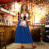 bar uniforms - Girl s love Women sexy halloween costumes Naughty Maid Gown Oktoberfest Costume S1574 Bavarian bar maid