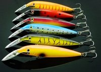 bass fishing lures - 3D Fish Eye Minnow Crankbait Rapala Rippin Rap Jerkbait Deep Running bass Fishing Lure Colors cm g