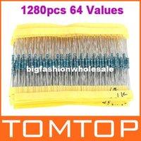 Wholesale Metal Film Resistors Assortment Kit Set Values ohm M ohm W