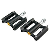 Wholesale NEW pair Aluminum Alloy Bicycle Bearing Pedals With Anti skid Peg