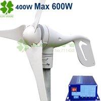 Wholesale small wind turbine max power w w wind solar hybrid controller for w wind generator w solar panel