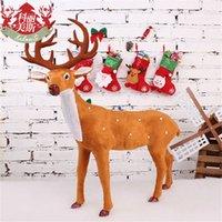 Juguetes de la Navidad del partido de la correa de muñeca con la lámpara de los niños del regalo de Navidad de Santa Claus muñeco de nieve de los ciervos Navidad Adornos