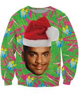 airs jumpers - Carlton Crewneck Sweatshirt Fresh Prince of Bel Air Christmas design Alfonso Ribeiro Jumper Women Men Fashion Sweats Hoodies