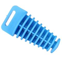 Wholesale Blue Large size cm silica gel Motorcycle Modified Exhaust Muffler plug for Dirt Pit Silencer washing Waterproof Plug order lt no trac