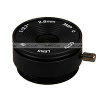 Wholesale 1 quot mm MP F2 CS Mount IR Lens Degree Wide Angle View