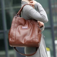 berkley - woodpecker real genuine leather Berkley brand women s handbag portable one shoulder cross body bags large roomy bag