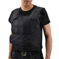Wholesale Hot Sale Bulletproof Vest Men Body Armor Proof Tactical Vest Ballistic Waistcoat Concealable Stab Safety Vest Self defense WM0096