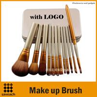 Cheap Professional 12 PCS Makeup Brushes Best Cosmetic Facial Make up Brush Tools