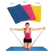 Wholesale New Arrival Colors Exercise Pilates Yoga Workout Physio Aerobics Resistance Stretch Band
