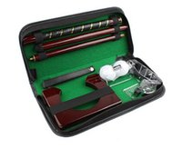 Wholesale Generic Executive Travel Indoor Golf Wooden Club Putter Kit