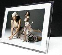 al por mayor marco de la foto pantalla blanca-15 pulgadas LCD Digital Photo Frame pantalla TFT de 1024x768 HD-Bluit en múltiples funciones de control remoto de MP3 / MP4 de color blanco / negro
