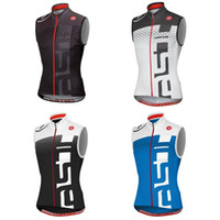 Wholesale new arrival hot Cycling Sleeveless jersey bike tops sportswear three rear pockets vest Summer Pro team Jersey maillot Ciclismo