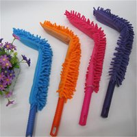 Wholesale Household Microfiber Noodle Pole Car Auto Home Cleaning Dusting Various Colors Lengthen Thickening Feather Duster IC872070