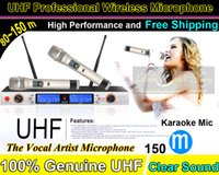 Wholesale Professional Handheld UHF Wireless Microphone System For Wedding KTV Karaoke Meeting Conference Mic Mike Microfone