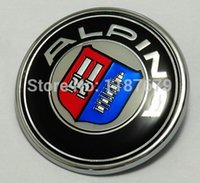 Wholesale HOT SALE mm mm Hood and Trunk resin ALPINA Emblem Badge