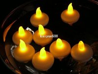 floating candles - 24 Tealight Tea Candles Waterproof Christmas Floating Flameless LED Light Lamp Bulb for Wedding Birthday Party Decoration
