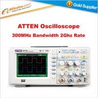 atten digital oscilloscope - Hot selling ATTEN Digital Oscilloscope ADS1302CE MHz Bandwidth Ghz Sampling Rate