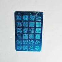 Wholesale Nail Art Stamping Stencil Metal Template Image DIY Print Plate